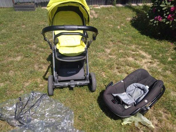 Wózek dziecięcy Oyster2 z fotelikiem Maxi-Cosi Pebble