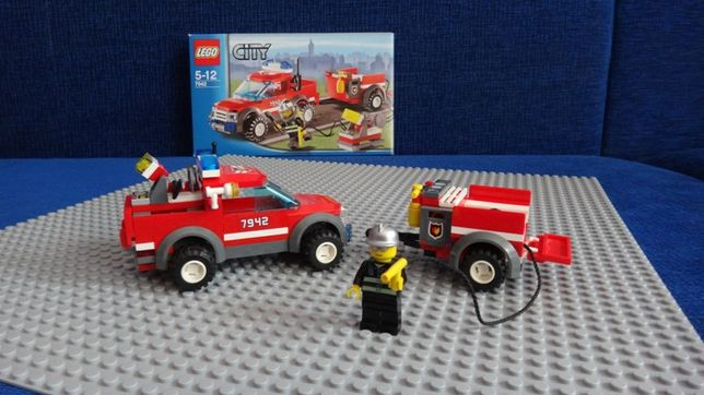 Lego City-Terenowa ekipa ratunkowa Off road fire rescue 7942