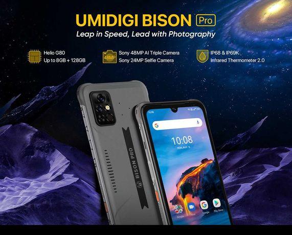 Umidigi BISON Pro 8GB/128GB  IP68  2.0GHz
