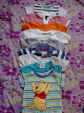 Набор футболок 6-9 мес
