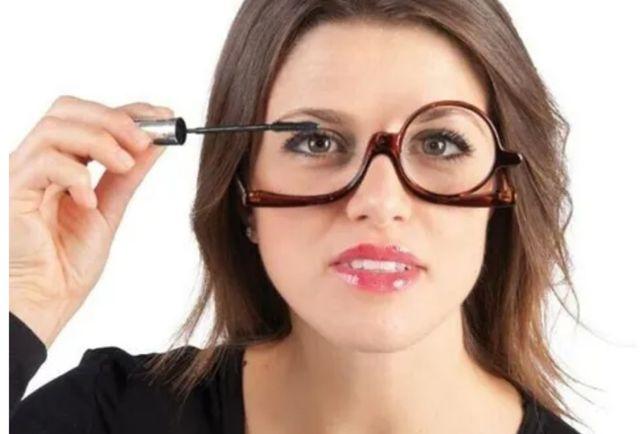 Óculos para maquilhar