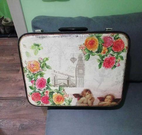 СССР чемодан советский декупаж валіза радянська