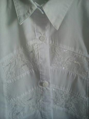 Рубашка в школу на рост 140-146.