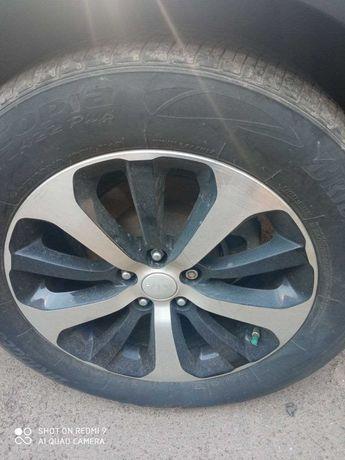 диск колісний комплект оригінал  KIA SORENTO R18 б/у