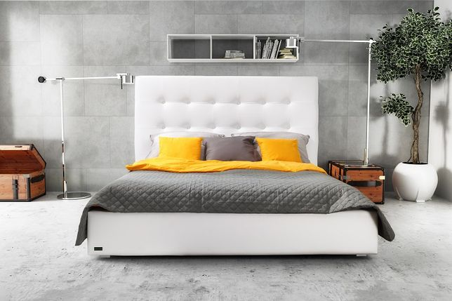 Tapicerowane łóżko Paris od producenta, każdy wymiar