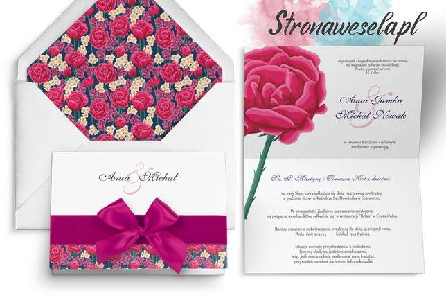 Zaproszenie Ślubne, Zawiadomienie - Laura