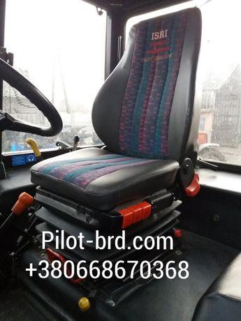 Сиденье кресло пилот в трактор мтз хтз юмз т150 камаз маз газ зил
