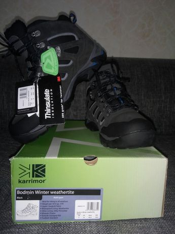 Зимние ботинки Karrimor Bodmin Winter Weathertite Black