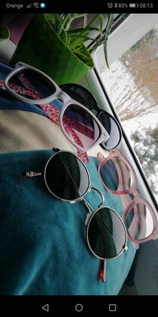 Zestaw okulary przeciwsłoneczne H&M /Sinsay
