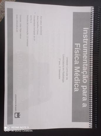 Instrumentação para a Física Médica UA