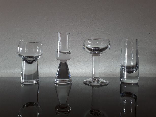 Coleção de 4 shots em cristal Atlantis