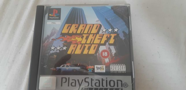 Grand theft auto gta ps1 ps one psx