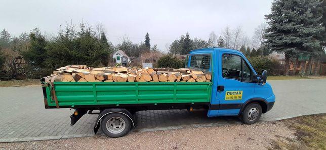 drewno kominkowe opałowe tartak deski zrzyny podkłady pale