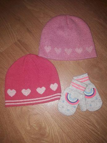 Шапки, шапочки, весенняя шапочка на девочку 2-4 года