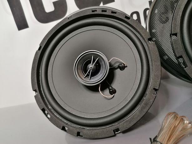 Głośniki 120W slim dwudrożne 6.5c woofer 4ohm komplet z siatkami