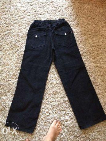 Вельветовые джинсы рост164 новые