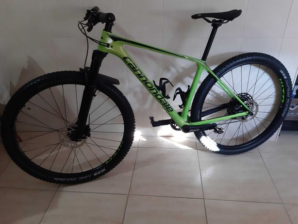 Cannondale F-SI Carbon 5 2019 green M