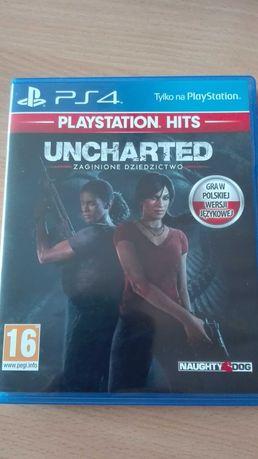 Sprzedam grę na konsole PS4 Uncharted zaginione dziedzictwo