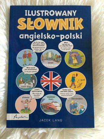 """""""Ilustrowany słownik angielsko-polski"""" J. Lang (NOWA)"""