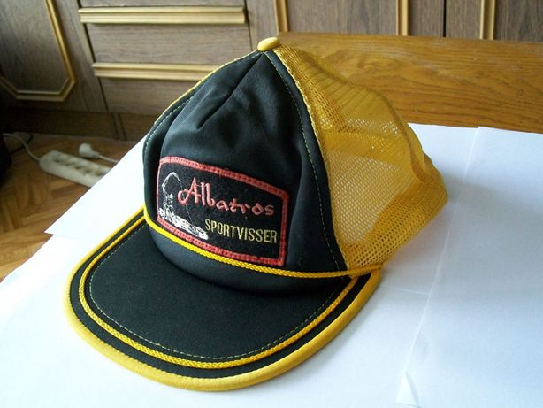 Oryginalna czapka wędkarska Albatros