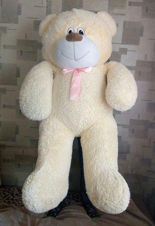Огромный мягкий медведь 115 см.