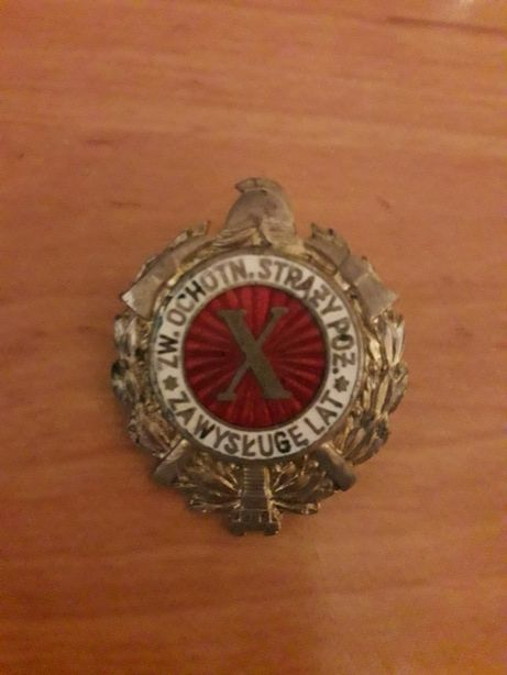 Odznaka strażaka