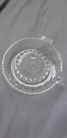 Ząbkowice wyciskacz  do cytryn stare szkło prl