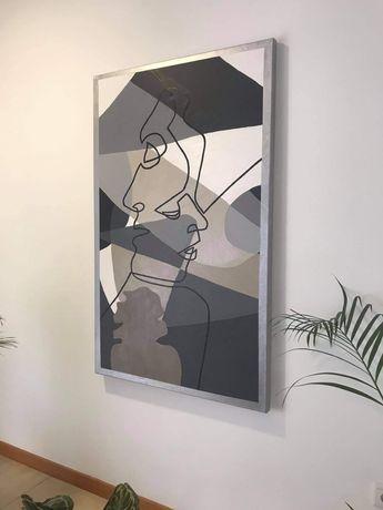 Quadro minimalista moderna