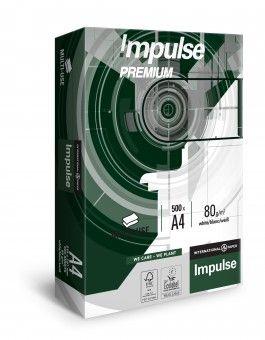 Papier do drukarki Impulse A4 500 kartek 80g/m2 SŁUPCA