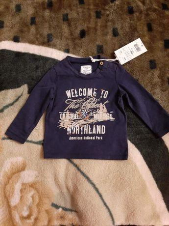 Кофточка НОВА для хлопчика 6-9 міс.(74см)Італія кофта свитер джемпер