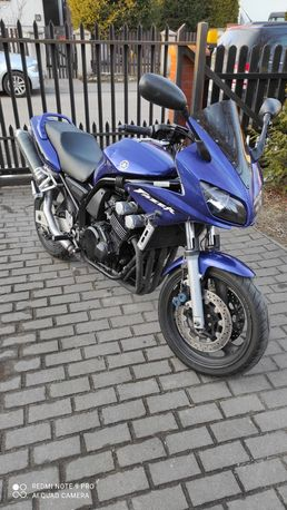 Yamaha Fazer 600 fzs