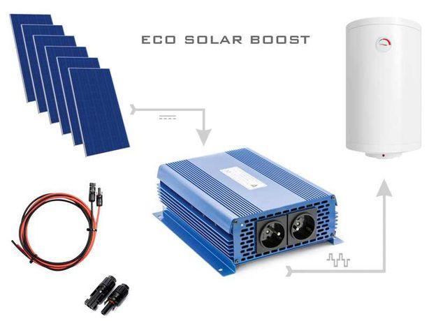 Instalacje fotowoltaiczne, grzanie wody, zestaw 6 paneli 280wp