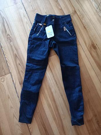 Bryczesy HKM jeans