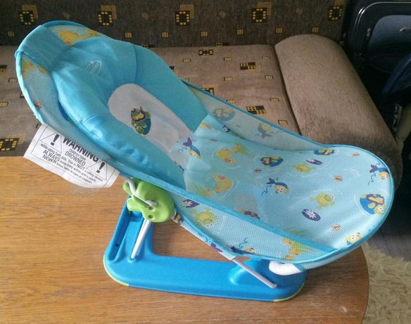 Lezaczek - krzeselko do kapania dzieci 0 m-cy+