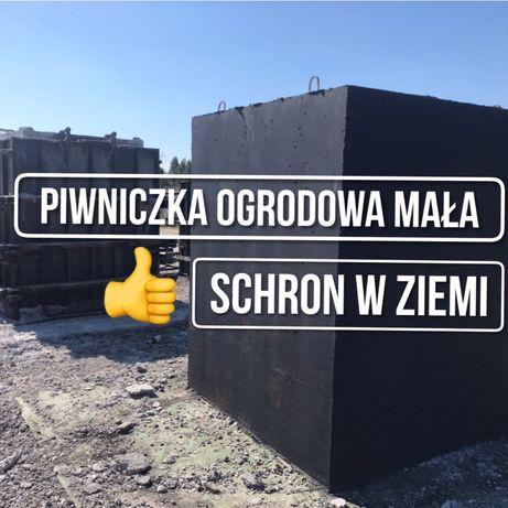 Piwniczka ogrodowa Ziemianka Spiżarnia Schron Bunkier Włodawa Wyryki