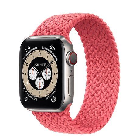 Плетёные нейлоновые ремешки из 6 серии, для Apple Watch