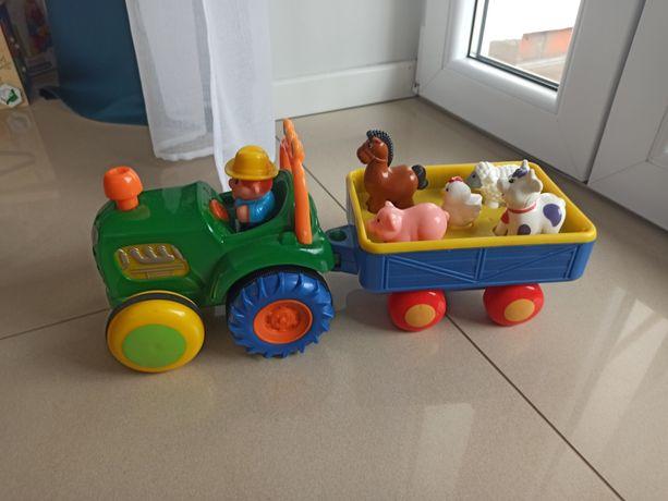 Traktor ze zwierzętami z napędem