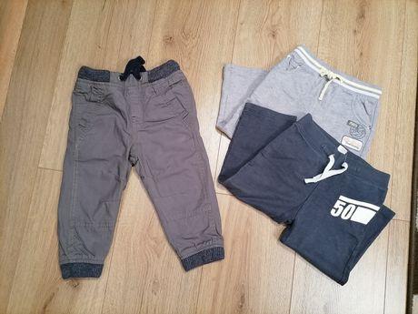 Spodnie chłopięce 86 + gratis spodnie Coccodrillo i C&A