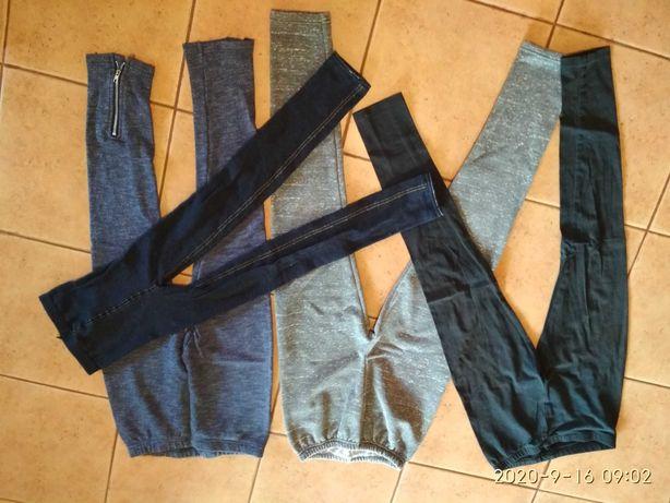 Legi legginsy getry spodnie obcisłe dziewczęce Coccodrillo inne 158