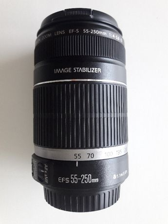 Objetiva Canon EFS 55-250 mm