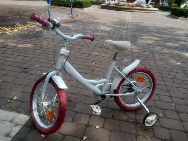 Rower biały 16 cali