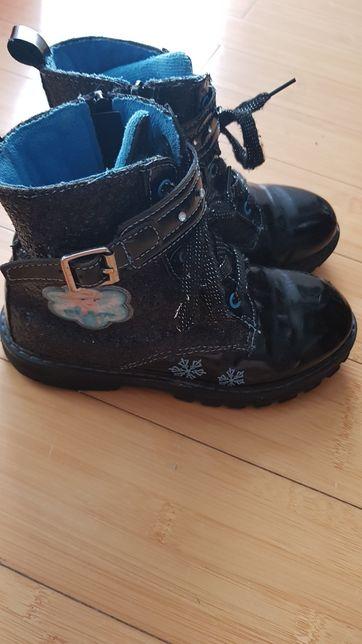 Buty kozaki Frozen r. 30 dł. Wkl 18,5cm