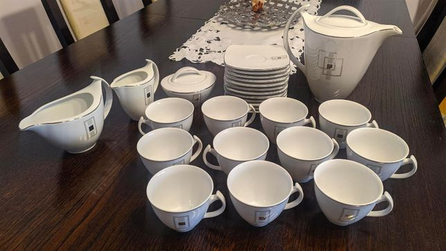 Zestaw 12 porcelana ĆMIELÓW ORYGINAŁ - Nie używana