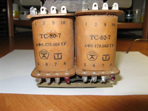 Трансформатор ТС-80-7