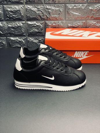 Кожаные кроссовки кортез Nike Cortez кросовки Наложка Топ Киев