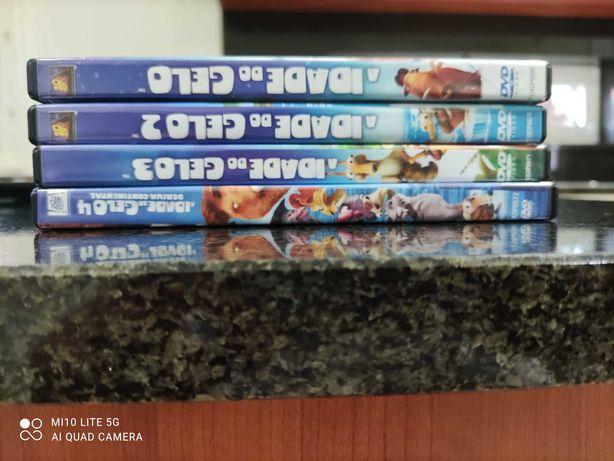 Coleção de DVD - A Idade do Gelo