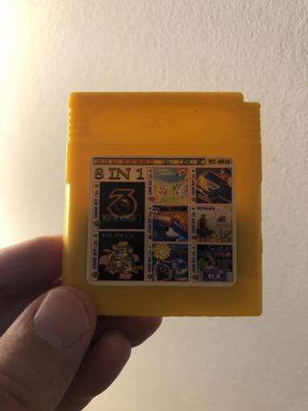 Vendo cartucho com 8 jogos para Gameboy
