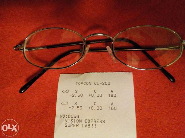 Okulary, oprawki, szkla -2.50