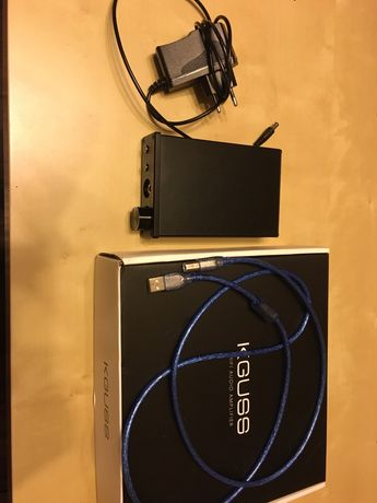 Wzmacniacz słuchawkowy KGUSS DAC K3