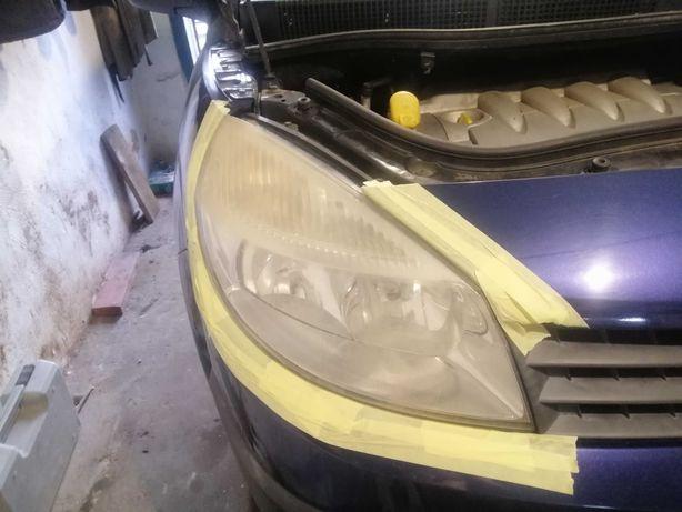 Полировка фар и кузова Автомобиля